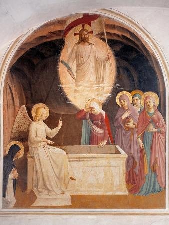 beato-angelico-christ-resurrected-or-the-message-of-the-angel
