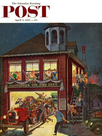 ben-kimberly-prins-fireman-s-ball-saturday-evening-post-cover-april-3-1954