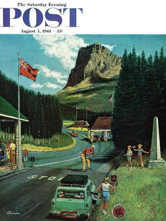 ben-kimberly-prins-u-s-canadian-border-at-waterton-glacier-saturday-evening-post-cover-august-5-1961