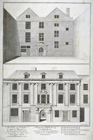 benjamin-cole-city-of-london-lying-in-hospital-for-married-women-aldersgate-street-london-c1750