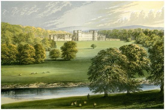 benjamin-fawcett-floors-castle-roxburghshire-scotland-duke-of-roxburghe-c1880