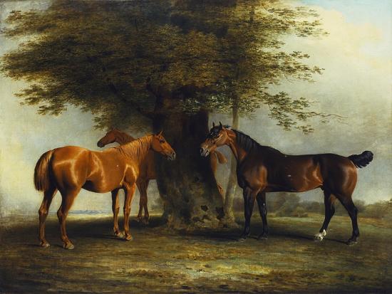 benjamin-marshall-hunters-at-grass-1801