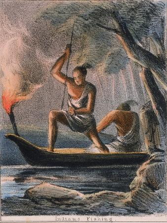 benjamin-waterhouse-hawkins-indians-fishing-c1845
