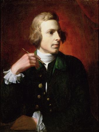 benjamin-west-portrait-of-charles-wilson-peale-1741-1827-1767-9