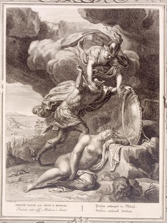 bernard-picart-perseus-cuts-off-medusa-s-head-1731-engraving