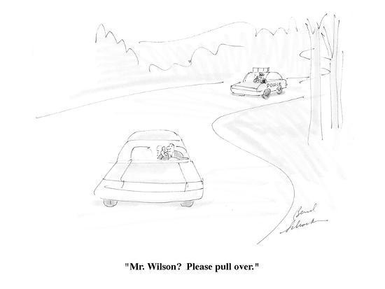 bernard-schoenbaum-mr-wilson-please-pull-over-cartoon