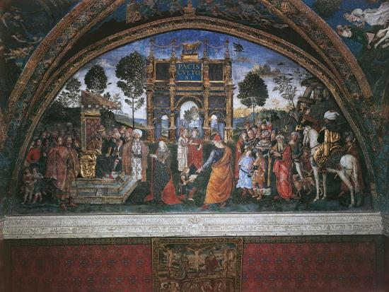 bernardino-di-betto-pinturicchio-dispute-of-st-catherine-with-emperor-maximian