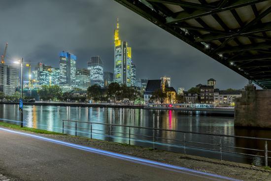 bernd-wittelsbach-germany-hesse-frankfurt-am-main-financial-district-skyline-with-iron-footbridge-at-dusk
