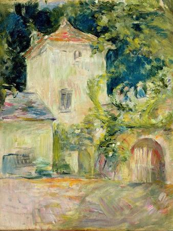 berthe-morisot-pigeon-loft-at-the-chateau-du-mesnil-juziers-1892