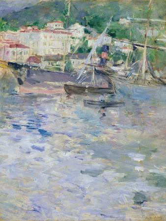 berthe-morisot-the-port-nice-1882