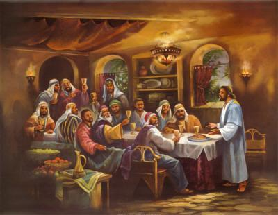 Black Last Supper Art Print By Bev Lopez At Art Com