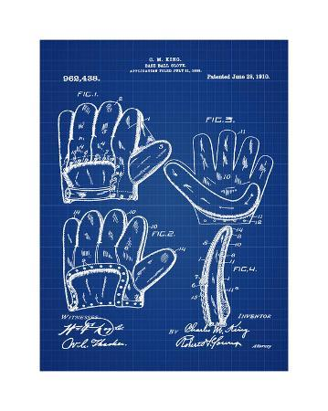 bill-cannon-baseball-glove-1909-blue-ii