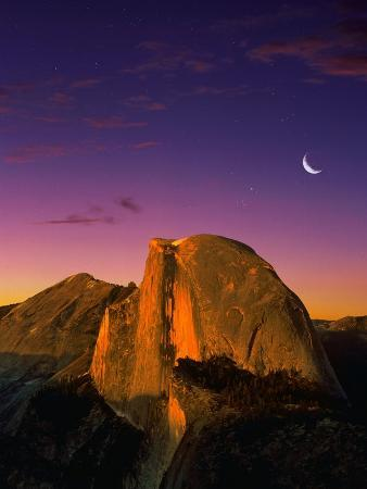 bill-ross-half-dome-at-twilight