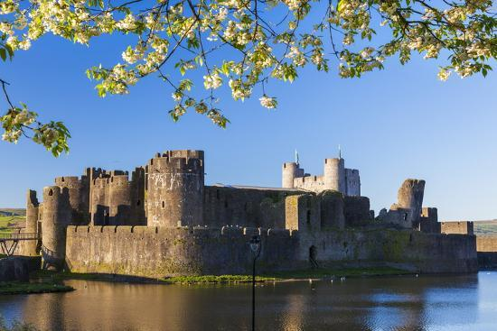 billy-stock-caerphilly-castle-gwent-wales-united-kingdom-europe