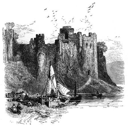 birket-foster-pembroke-castle-1930s