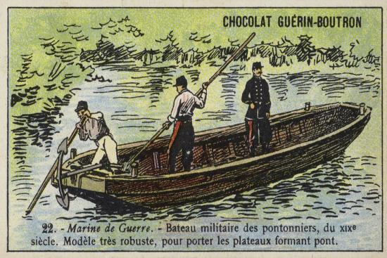 boat-of-french-military-bridge-builders-19th-century