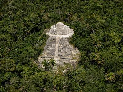 The Largest Of All Mayan Cities Remains Hidden in the Jungle! Bobby-haas-jungle-surrounds-the-lamanai-maya-ruins-northwest-of-belize-city_a-l-5162244-4990703