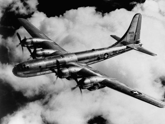 boeing-b-50a-superfortress-in-flight