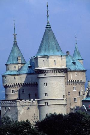 bojnice-castle-trencin-detail-slovakia