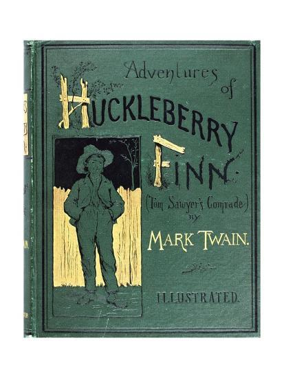 My Adventure Book Printable Cover : Book cover for mark twain s the adventure of huckelberry