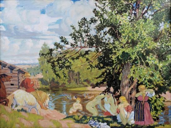 boris-michaylovich-kustodiev-the-bath-1910
