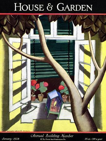bradley-walker-tomlin-house-garden-cover-january-1928
