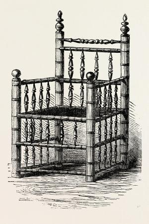 brewster-s-chair-preserved-at-pilgrim-hall-new-plymouth-usa-1870s