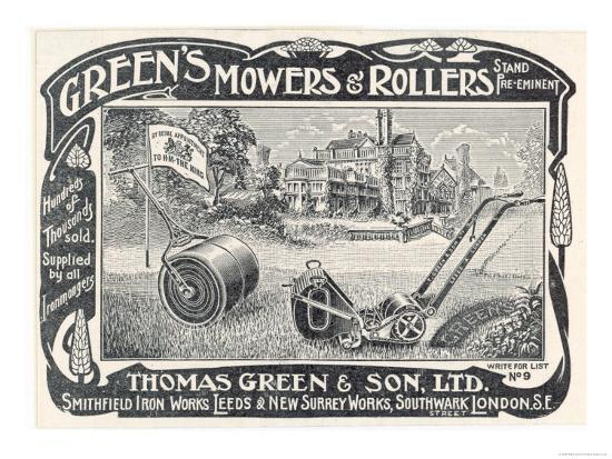 british-advertisement-for-a-lawn-mower-and-garden-roller