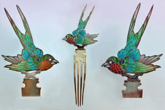 british-arts-and-crafts-hair-combs-with-swallows
