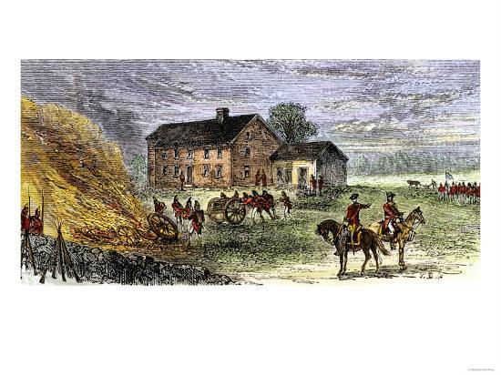 british-burning-patriots-goods-in-a-bonfire-at-colonel-barrett-s-house-battle-of-concord-c-1775