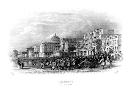 british-troops-parading-on-the-esplanade-calcutta-india-mid-19th-century