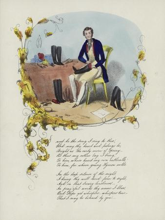 british-valentine-card-with-an-image-of-a-man-reparing-boots