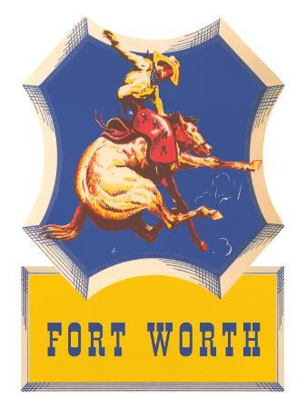 bronco-rider-fort-worth-texas