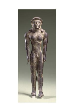 bronze-statuette-depicting-a-kouros-front-view-7th-century-bc