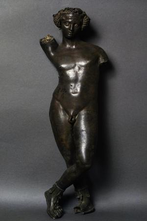 bronze-statuette-of-bacchus-front-view