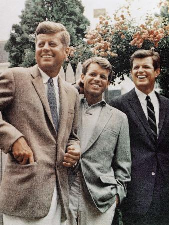 brothers-john-f-kennedy-robert-kennedy-and-ted-kennedy-right-in-hyannis-port-massachusetts