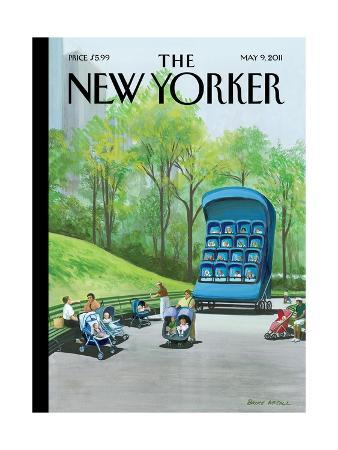 bruce-mccall-super-mother-s-day-the-new-yorker-cover-may-9-2011