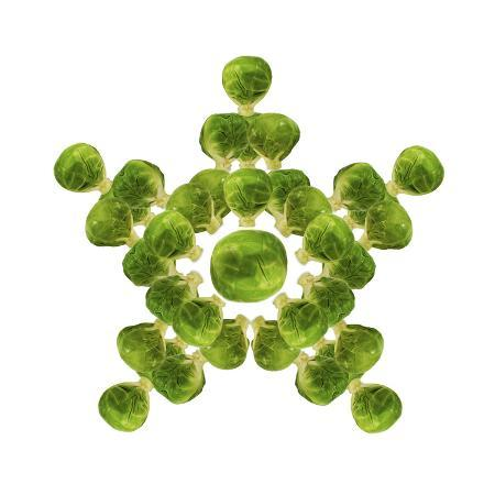 brussel-sprout-in-star-or-snowflake-shape