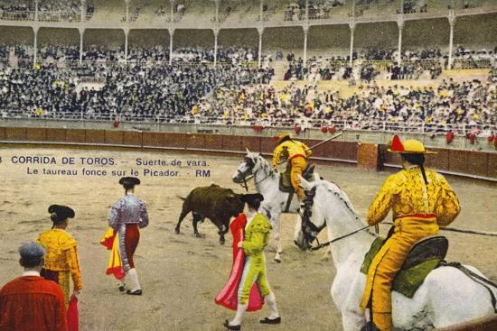 bull-fight-in-spain-early-20th-century