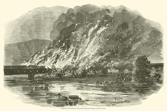 burning-the-bridge-over-the-susquehanna-columbia-penn-june-1863