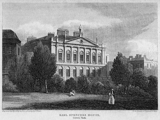 byrne-earl-spencer-s-house-green-park-westminster-london-1815