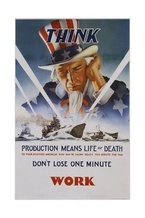 c-chickering-production-means-life-or-death-poster