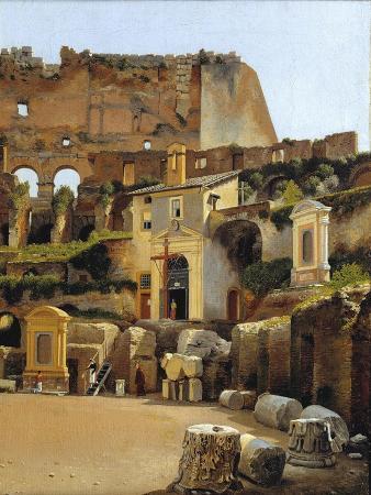 c-w-eckersberg-the-interior-of-the-colosseum-in-rome