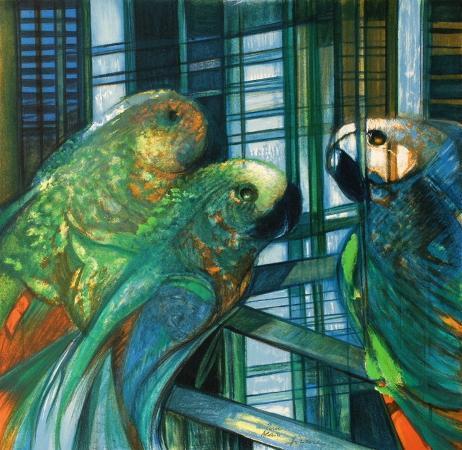camille-hilaire-les-perroquets