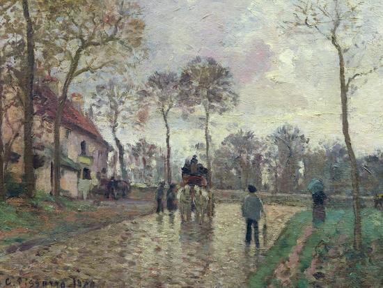 camille-pissarro-the-coach-to-louveciennes-1870