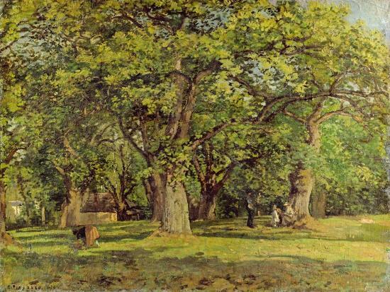 camille-pissarro-the-forest-1870