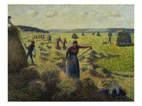 camille-pissarro-the-hay-harvest-eragny