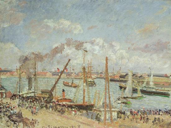 camille-pissarro-the-port-of-le-havre-afternoon-sun-1903