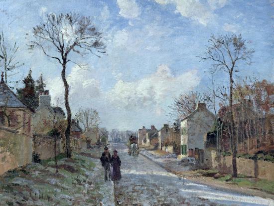camille-pissarro-the-road-to-louveciennes-1872