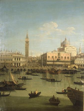 canaletto-a-capriccio-view-of-the-piazzetta-with-the-church-of-il-redentore